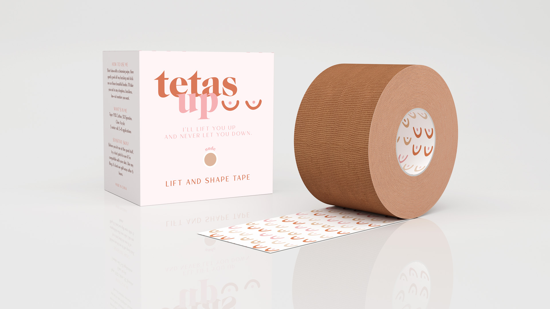 Tetas Up – 3D & Renderings
